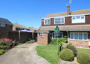 Thumbnail 3 bed semi-detached house for sale in The Silvers, Broadstairs