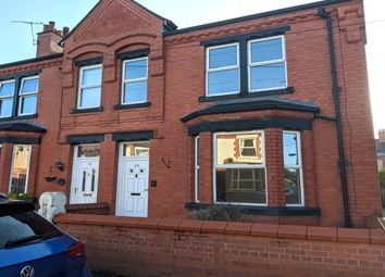 Thumbnail 4 bed terraced house to rent in Beechley Road, Wrexham