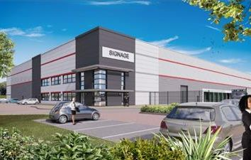 Thumbnail Warehouse to let in Unit 1, Cransley Park, Kettering, Northamptonshire
