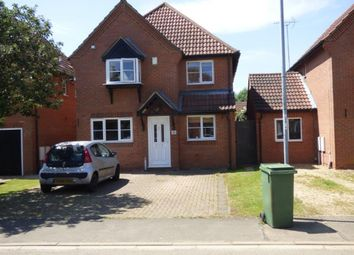 Thumbnail 4 bed detached house to rent in Snowley Park, Whittlesey, Peterborough