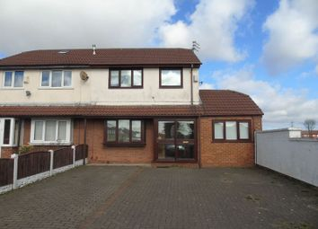 Thumbnail 4 bed semi-detached house for sale in Holt Lane, Rainhill, Prescot