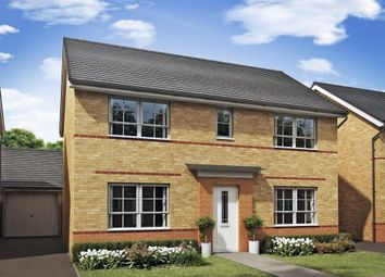 "Thumbnail 4 bed detached house for sale in ""Thornton"" at Morganstown, Cardiff"
