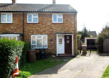 Thumbnail 2 bedroom end terrace house to rent in Braintree Close, L&D Borders
