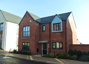 Thumbnail 4 bedroom detached house for sale in Little Flint, Lightmoor Village, Telford, Shropshire.