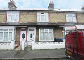 Thumbnail 2 bedroom terraced house for sale in Telham Avenue, Ramsgate