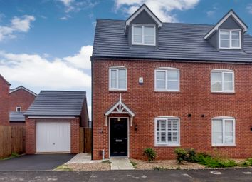 Thumbnail 3 bed semi-detached house for sale in Linacre Crescent, Leicester, Leicester