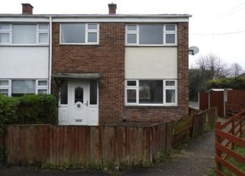 Thumbnail 3 bed end terrace house for sale in Chatsworth Court, Hucknall, Nottingham
