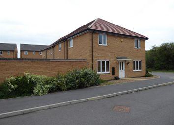 Thumbnail 3 bedroom end terrace house for sale in Fletcher Way, Gunthorpe, Peterborough