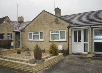 Thumbnail 2 bed terraced bungalow to rent in Courtbrook, Fairford