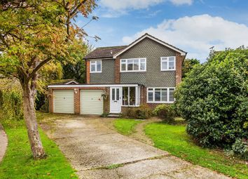 Thumbnail 4 bed detached house for sale in The Hawthorns, Hurst Green, Oxted