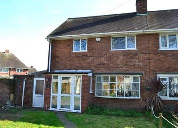 Thumbnail 2 bedroom semi-detached house to rent in Gower Street, Pleck, Walsall