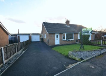 Thumbnail 2 bed semi-detached bungalow for sale in New Bury Close, Oswaldtwistle, Accrington