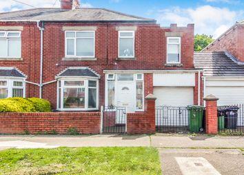 Thumbnail 4 bed semi-detached house for sale in Ridge Villas, Bedlington