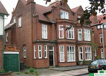 Thumbnail 1 bed flat to rent in Woodland Avenue, Stoneygate, Leics