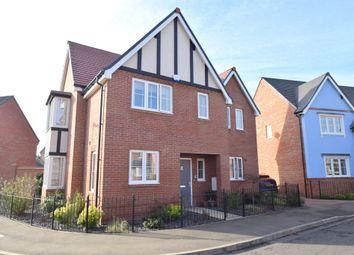 Thumbnail 4 bed detached house for sale in St. Pauls Drive, Kedington, Haverhill