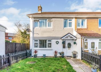 Thumbnail 3 bed semi-detached house for sale in Linden Grove, Caerphilly