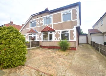Thumbnail 4 bed semi-detached house for sale in Elmcroft Avenue, Sidcup, Kent