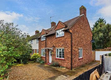Thumbnail 3 bed end terrace house for sale in Newlands Close, Hersham, Walton-On-Thames, Surrey