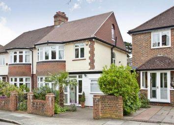 Thumbnail 4 bedroom semi-detached house to rent in Clive Road, Twickenham