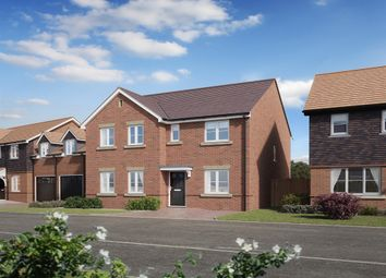"Thumbnail 4 bed detached house for sale in ""The Mayfair "" at Brookers Hill, Shinfield, Reading"