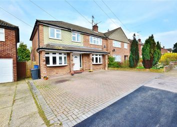 Thumbnail 5 bedroom semi-detached house for sale in Manston Drive, Bishop's Stortford