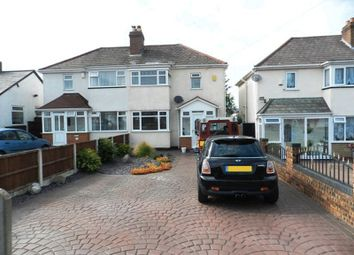 Thumbnail 2 bed semi-detached house for sale in Bridle Lane, Streetly, Sutton Coldfield