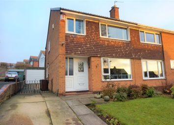 Thumbnail 3 bed semi-detached house for sale in Hall Park Avenue, Leeds