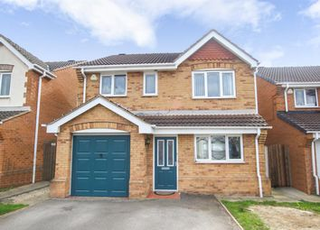 Thumbnail 4 bed detached house for sale in Willow Walk, Kinsley, Pontefract