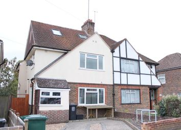 Thumbnail 1 bed semi-detached house to rent in Park Road, Brighton, East Sussex