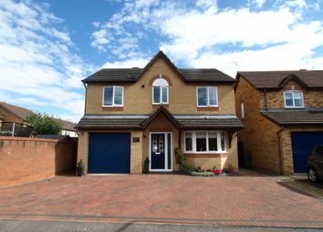 Thumbnail 4 bed detached house for sale in Foxglove Court, Newport Pagnell, Buckinghamshire