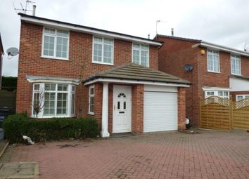 Thumbnail 4 bed detached house for sale in Orchard Way, Leicester