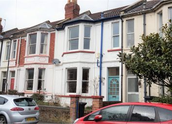 Thumbnail 4 bed terraced house for sale in Maple Road, Horfield