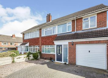 Thumbnail 4 bed semi-detached house for sale in Larch Road, Newhall, Swadlincote, Derbyshire