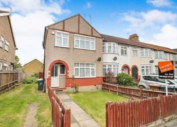 Thumbnail 3 bed terraced house to rent in Rosebery Avenue, South Harrow, Middlesex