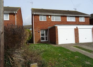 Thumbnail 3 bed semi-detached house to rent in Wear Road, Worthing