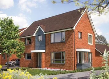 "Thumbnail 4 bed detached house for sale in ""The Montpellier"" at Fields Road, Wootton, Bedford"