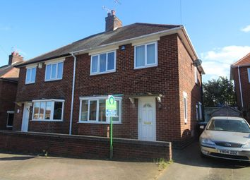 Thumbnail 3 bed semi-detached house for sale in Elizabeth Close, Hucknall, Nottingham