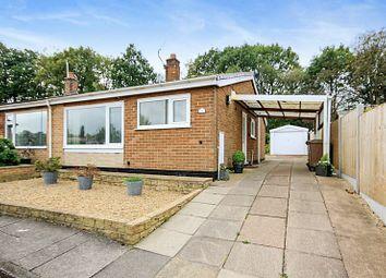 Thumbnail 2 bed semi-detached bungalow for sale in Stradbroke Drive, Longton, Stoke-On-Trent