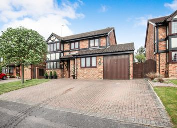 Thumbnail 5 bedroom detached house for sale in Woodmere, Luton