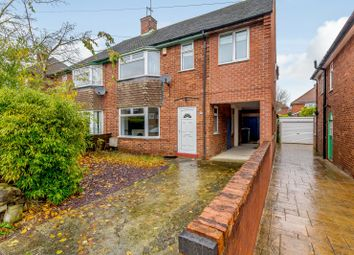 Thumbnail 4 bed semi-detached house for sale in Morley Avenue, Chesterfield