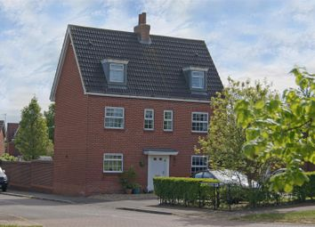 Thumbnail 5 bedroom detached house for sale in Kingfisher Road, Bury St. Edmunds