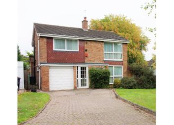 Thumbnail 4 bed detached house for sale in Winchfield Drive, Birmingham