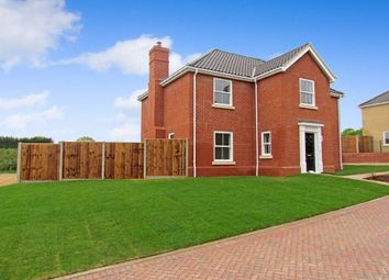 Thumbnail 4 bedroom detached house for sale in Pine Tree Close, Holton, Halesworth