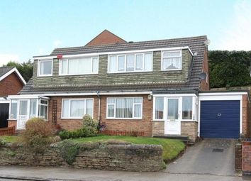 Thumbnail 3 bed semi-detached house for sale in Handley Road, New Whittington, Chesterfield, Derbyshire