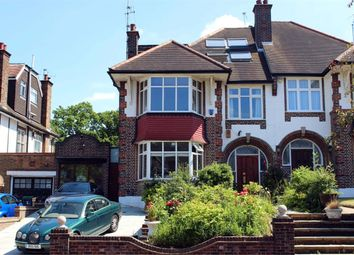 Thumbnail 5 bed semi-detached house for sale in Beech Drive, Ringwood Estate, London