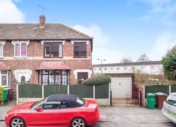 Thumbnail 3 bedroom end terrace house for sale in Cheltenham Street, Nottingham