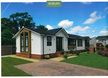 Thumbnail 2 bed mobile/park home for sale in The Chase Park, Leigh Delamere, Chippenham, Wiltshire