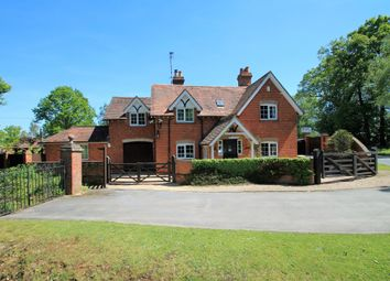 Thumbnail 4 bedroom detached house for sale in Bramshill Road, Eversley, Hook