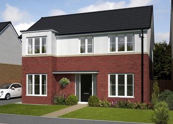 "Thumbnail 4 bed detached house for sale in ""The Pendlebury "" at Bassington Avenue"