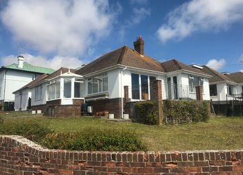 Thumbnail 3 bedroom detached bungalow to rent in Chichester Drive East, Saltdean